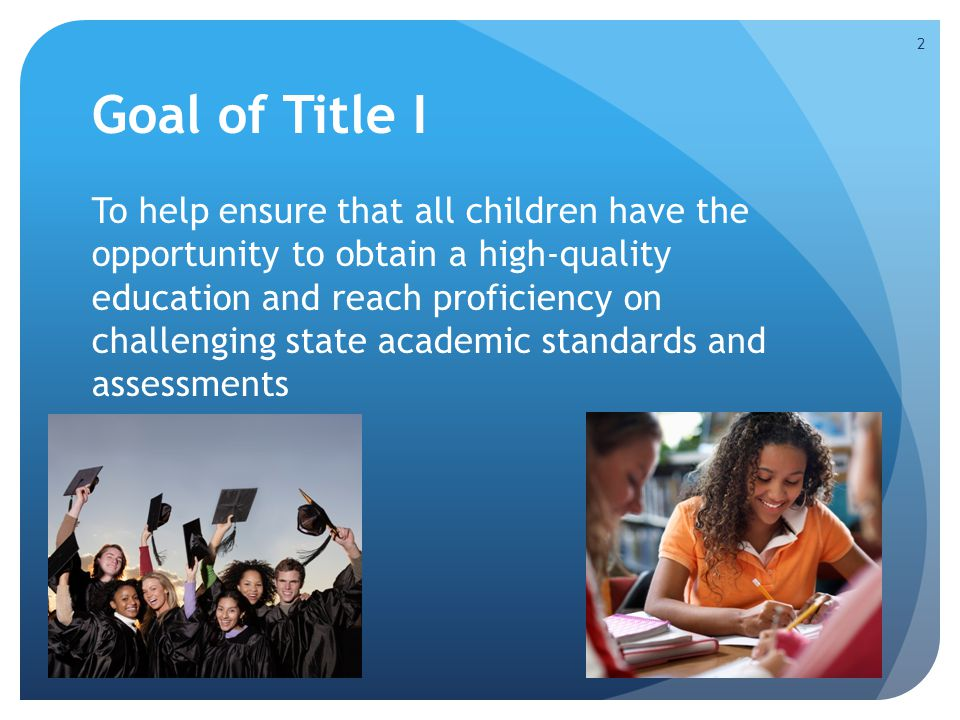 Preparing for an Audit 11 Areas of Compliance District responsible for all 11 areas Schools respond to 8 areas Emphasis on (A) Needs Assessment, (F) School Improvement and (K) Parental Involvement 13