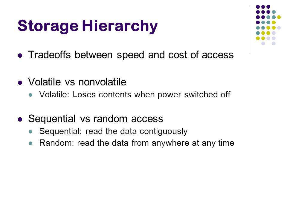 RAID Levels (c) Memory-style Error Correcting Keep extra bits around so we can reconstruct.