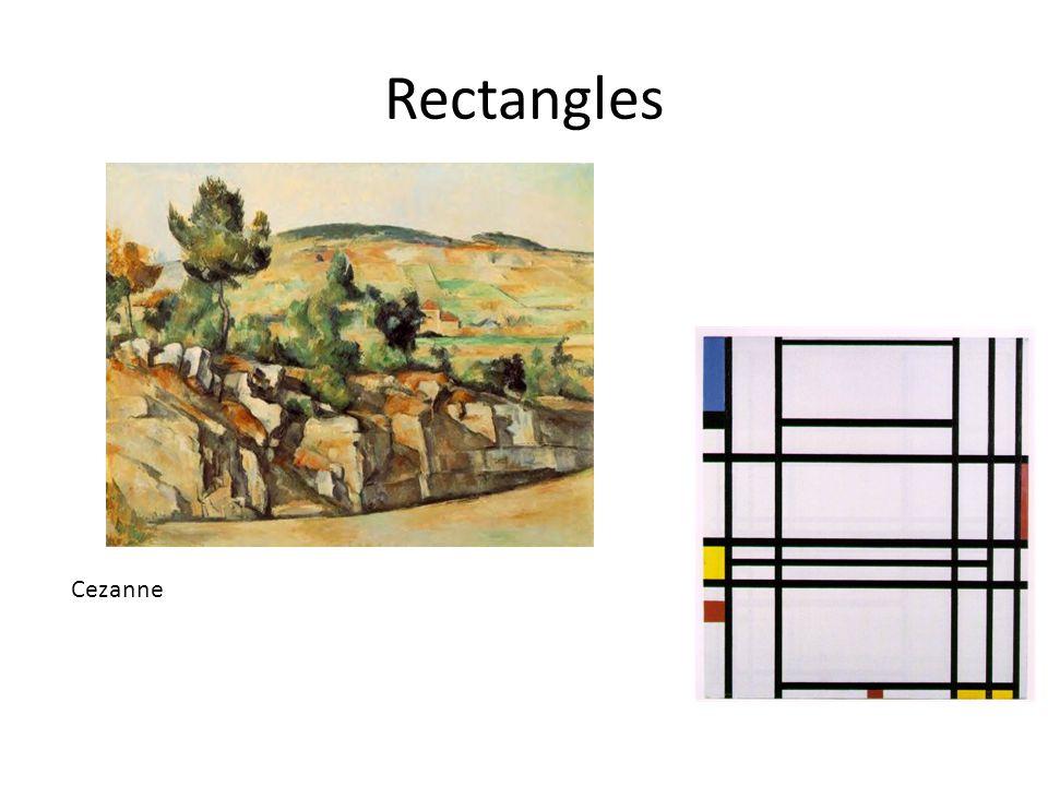 Rectangles Cezanne