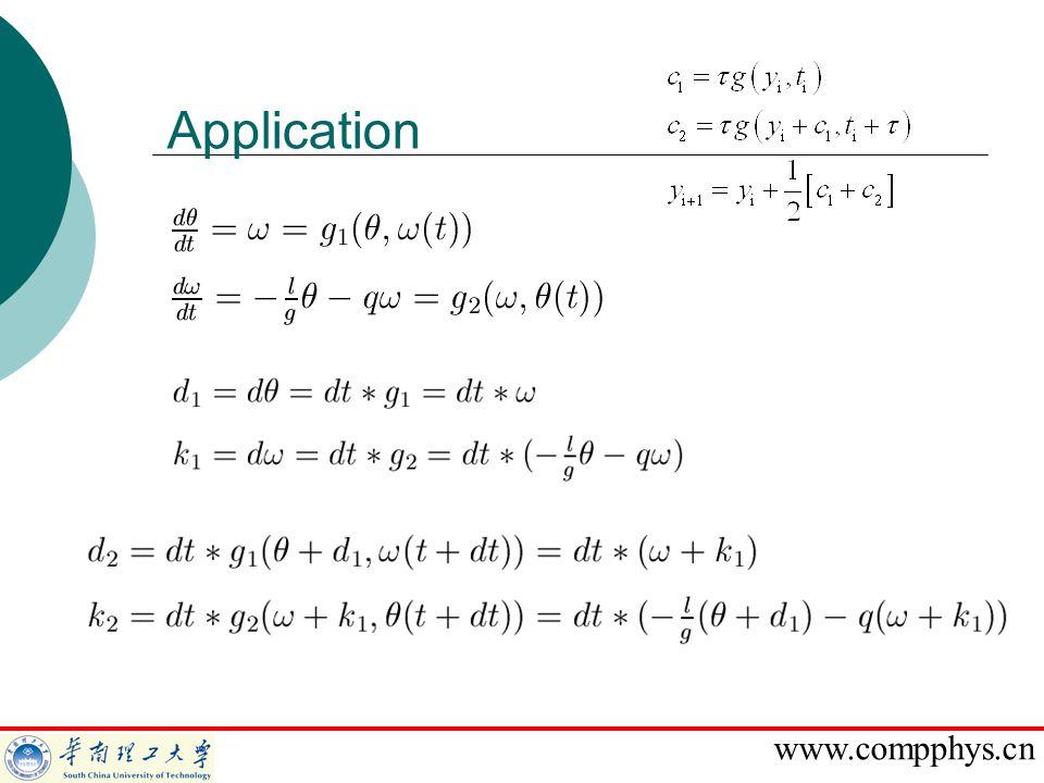 www.compphys.cn Application