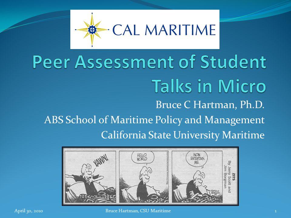 Bruce C Hartman, Ph.D.