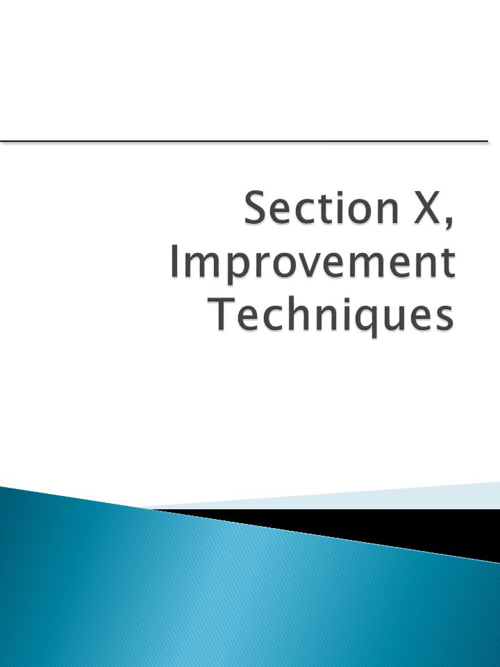 2222  Will help you gain knowledge in: ◦ Improving performance characteristics ◦ Reducing costs ◦ Understand regression analysis ◦ Understand relationships between variables ◦ Understand correlation ◦ Understand how to optimize processes  So you can: ◦ Recognize opportunities ◦ Understand terminology ◦ Know when to get help X-2