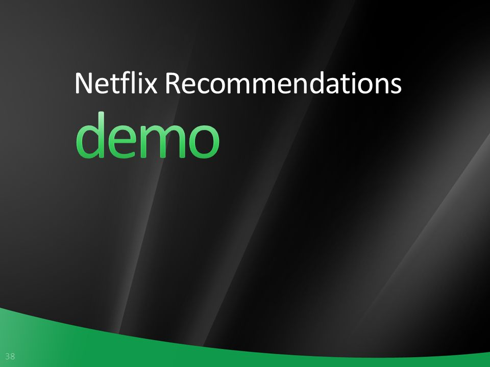38 Netflix Recommendations
