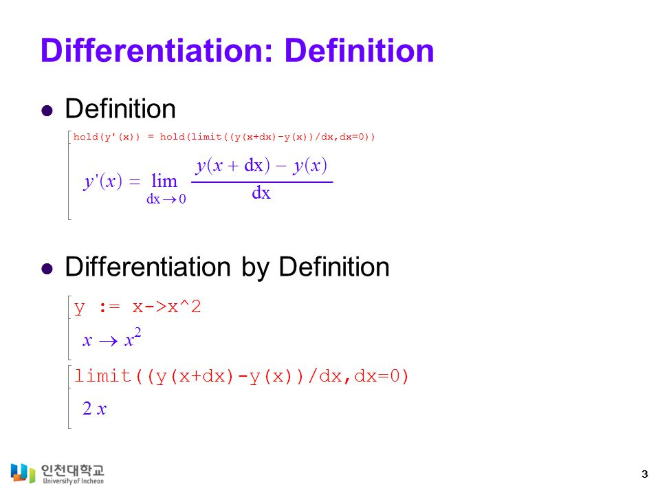 Functions and Expressions On Functions 4 On Expressions