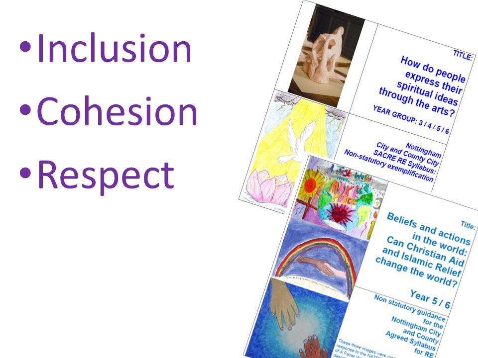 Inclusion Cohesion Respect