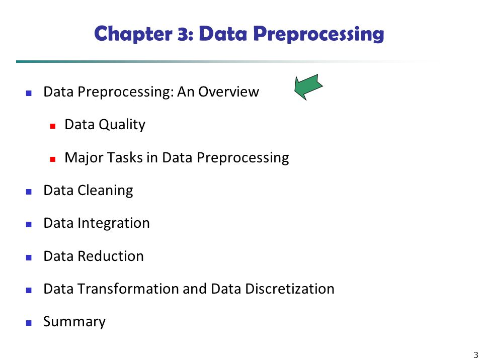 4 Data Quality: Why Preprocess the Data.