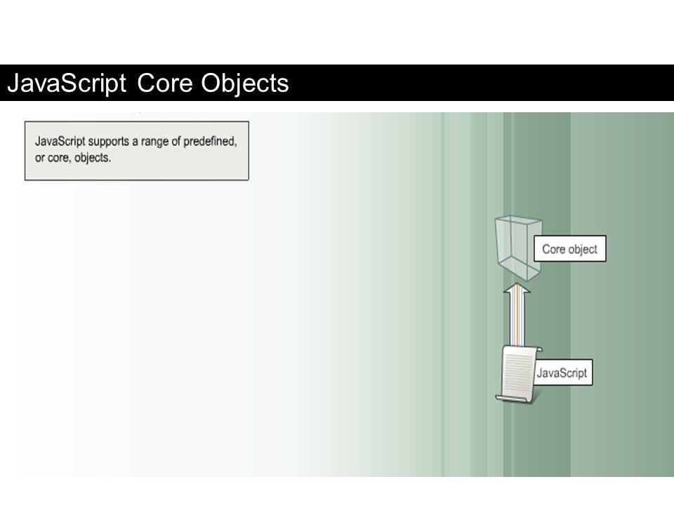 JavaScript Core Objects FaaDoOEngineers.com