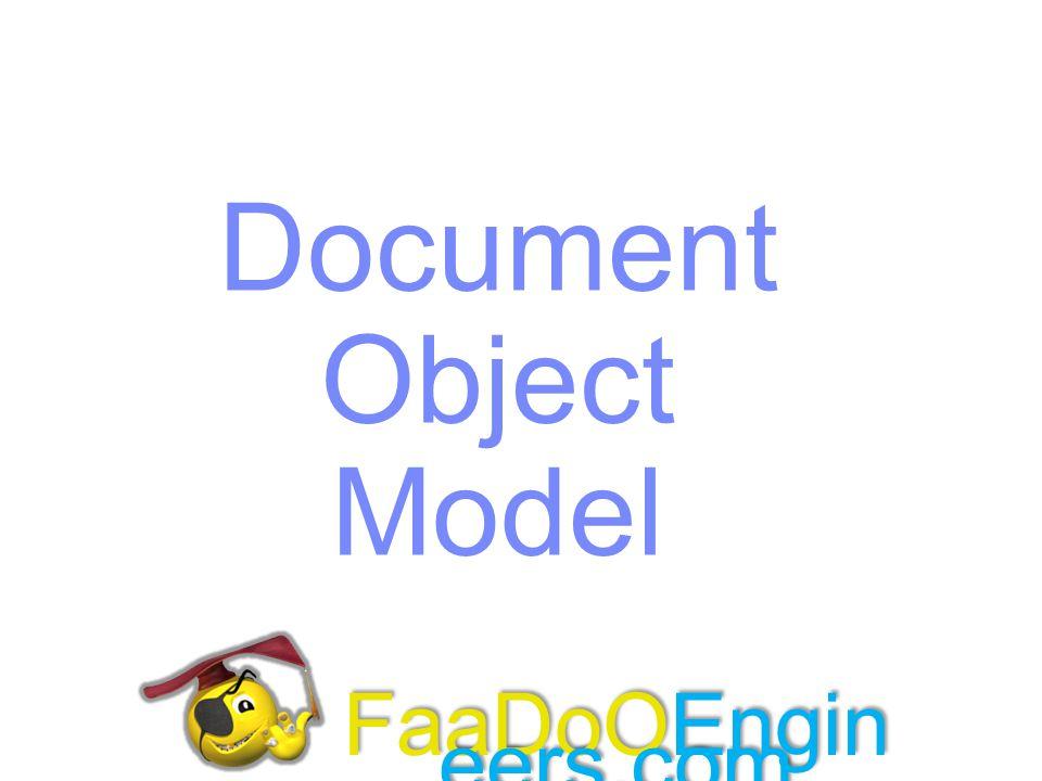 Document Object Model FaaDoOEngineers.com