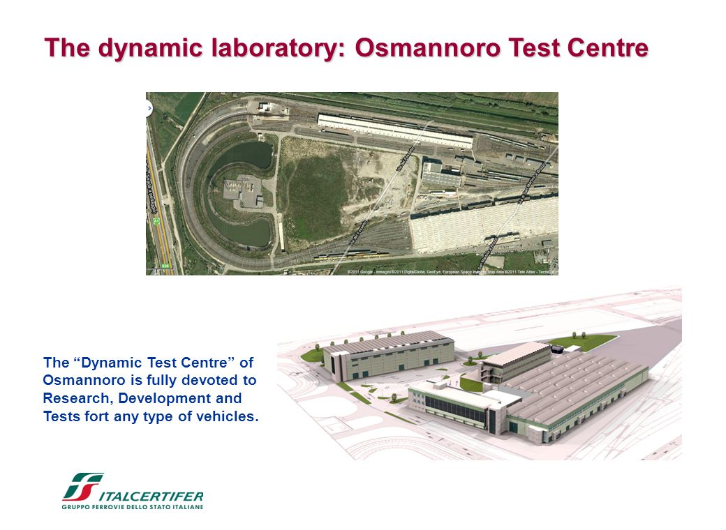"The dynamic laboratory: Osmannoro Test Centre The dynamic laboratory: Osmannoro Test Centre The ""Dynamic Test Centre"" of Osmannoro is fully devoted to"