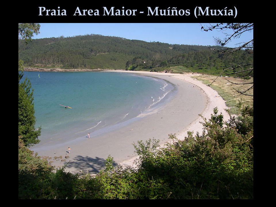 Praia Area Maior - Muíños (Muxía)