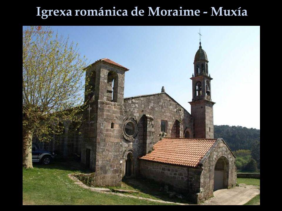 Igrexa románica de Moraime - Muxía