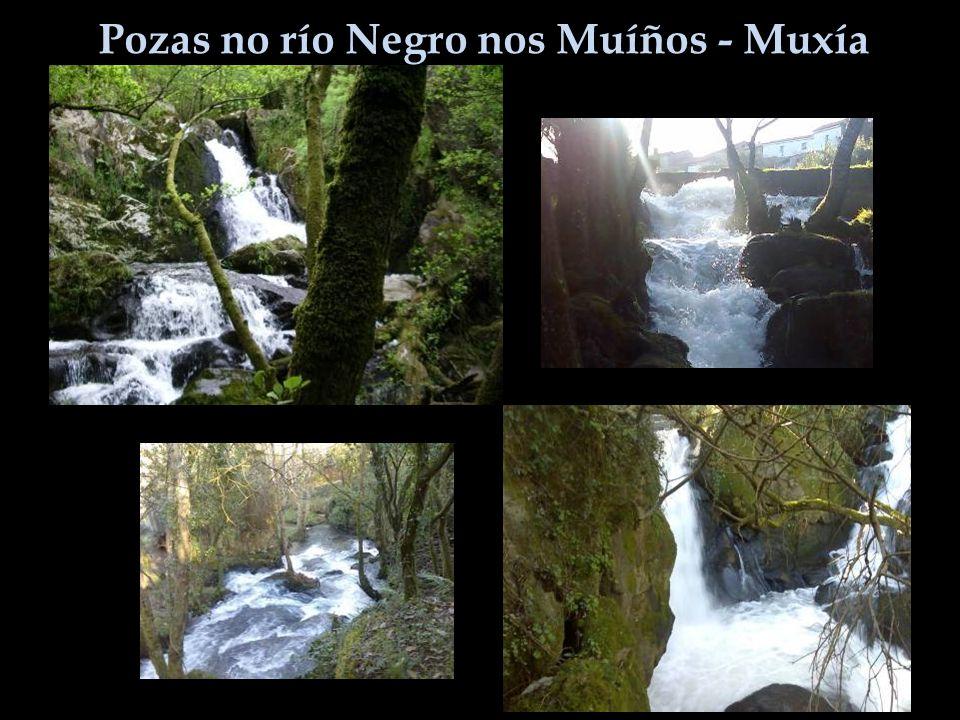 Pozas no río Negro nos Muíños - Muxía