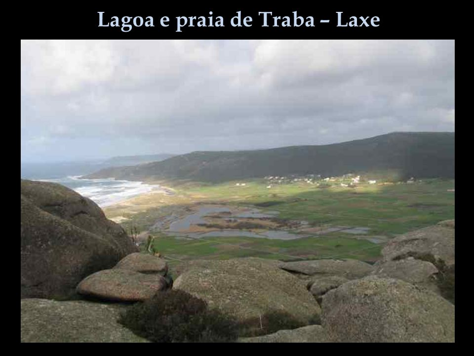 Lagoa e praia de Traba – Laxe