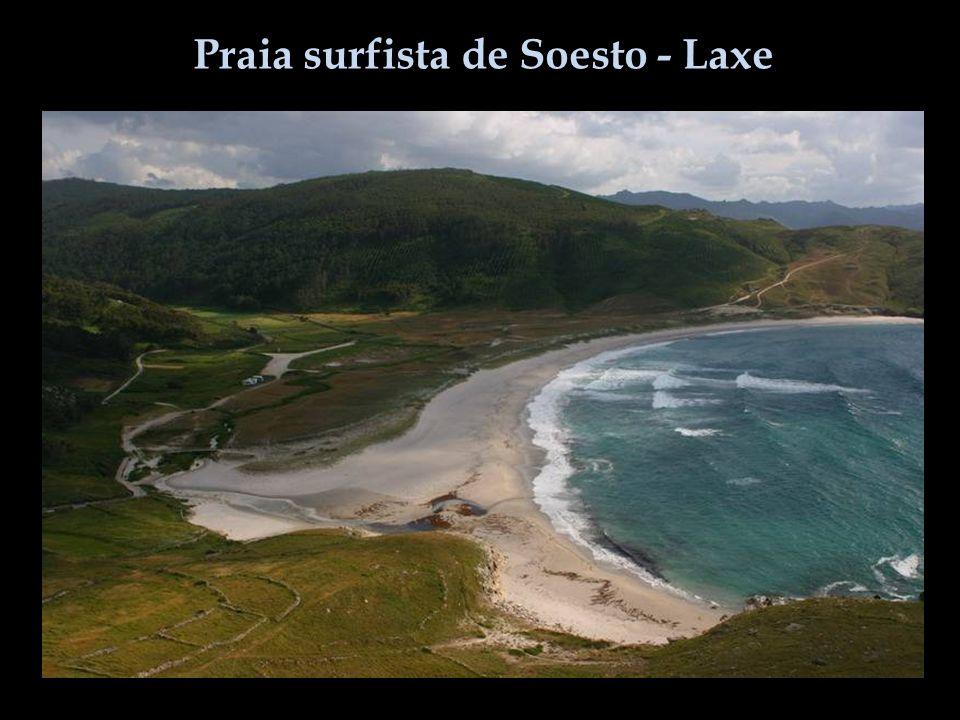 Praia surfista de Soesto - Laxe