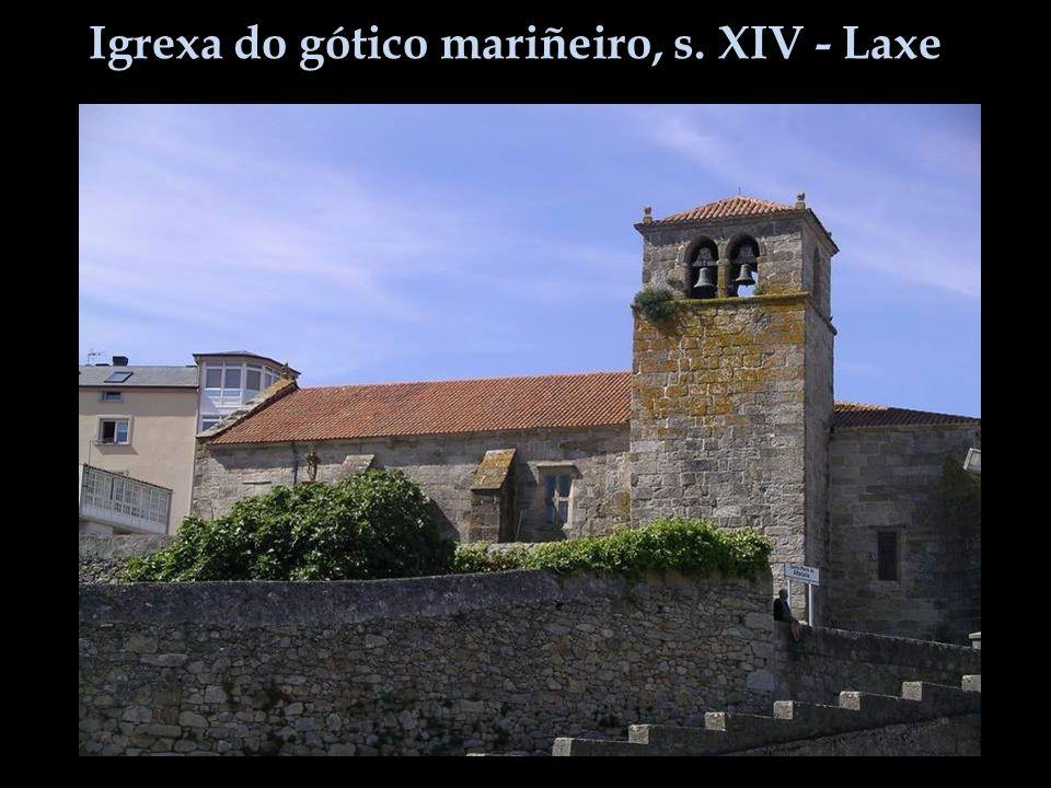 Igrexa do gótico mariñeiro, s. XIV - Laxe