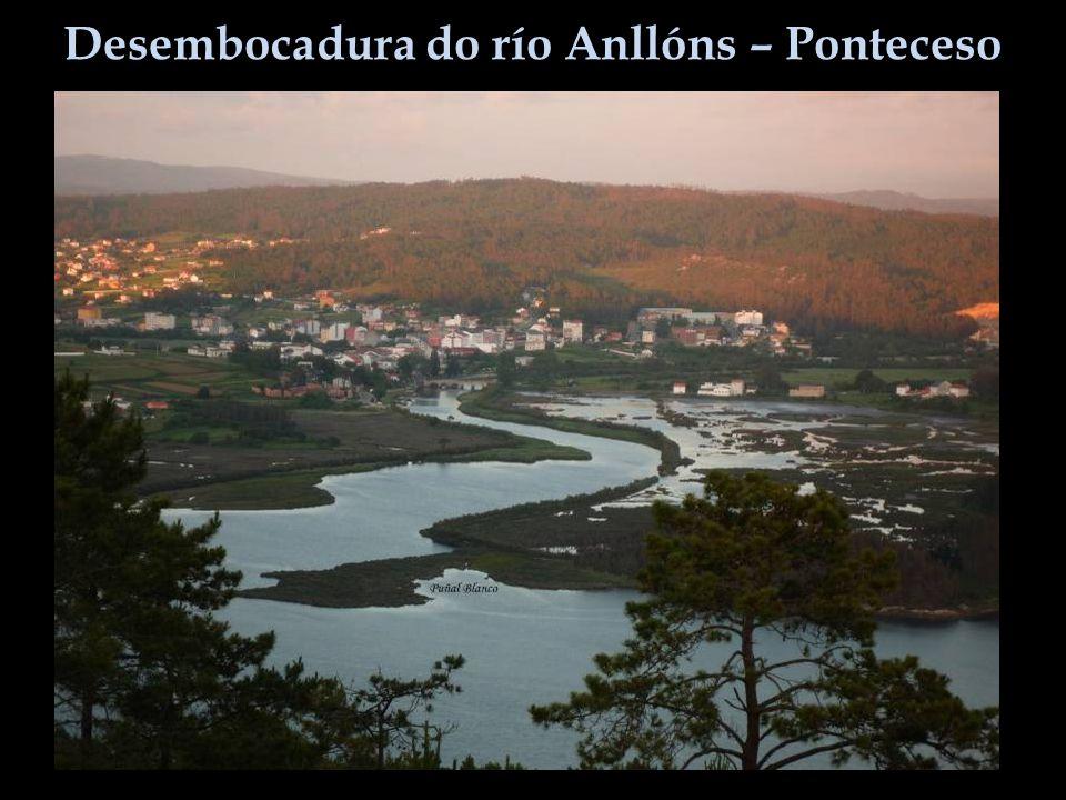Desembocadura do río Anllóns – Ponteceso