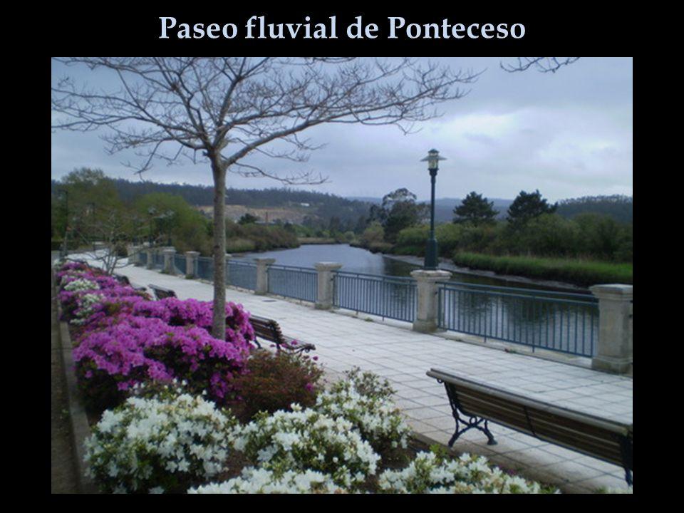 Paseo fluvial de Ponteceso