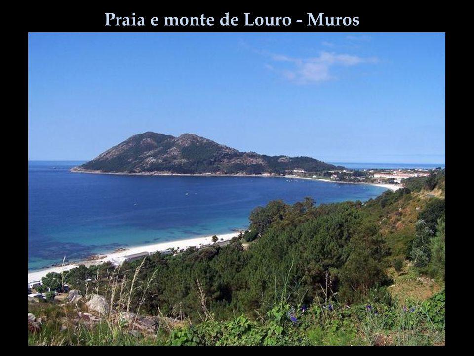 Praia e monte de Louro - Muros