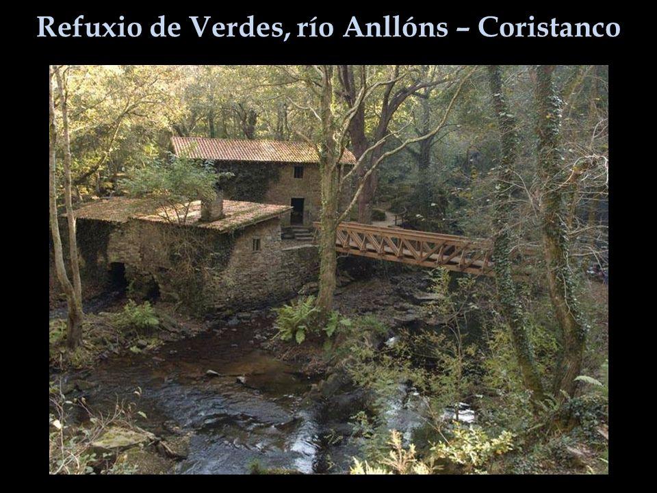 Refuxio de Verdes, río Anllóns – Coristanco