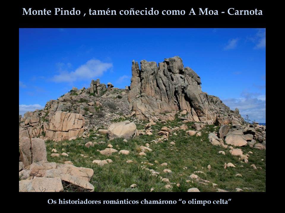 Monte Pindo, tamén coñecido como A Moa - Carnota Os historiadores románticos chamárono o olimpo celta