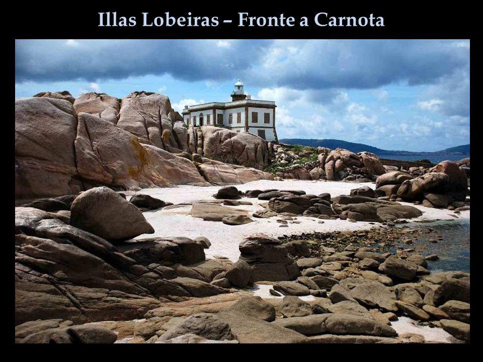 Illas Lobeiras – Fronte a Carnota