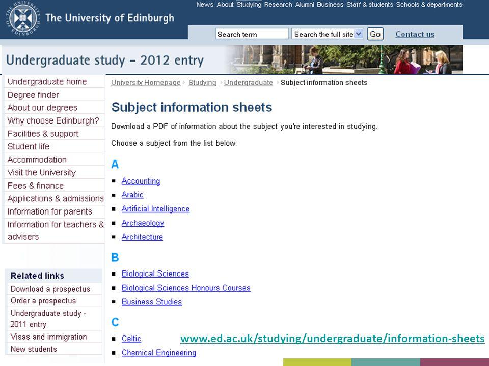 www.ed.ac.uk/studying/undergraduate/information-sheets