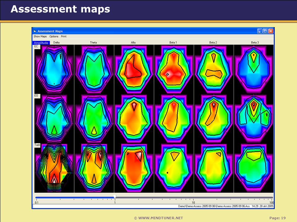 © WWW.MINDTUNER.NET Page: 19 Assessment maps