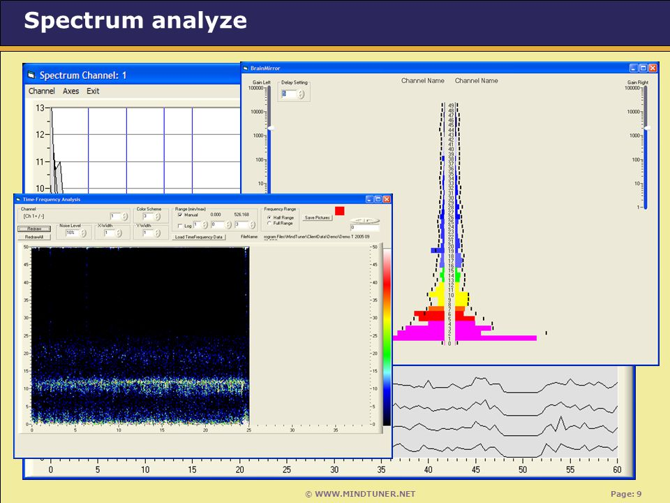 © WWW.MINDTUNER.NET Page: 9 Spectrum analyze