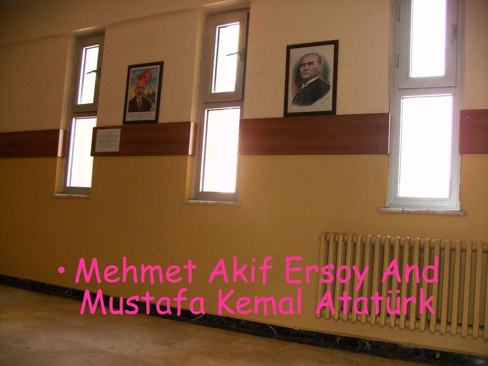 Mehmet Akif Ersoy And Mustafa Kemal Atatürk