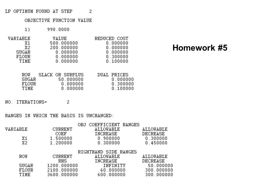 Homework #5