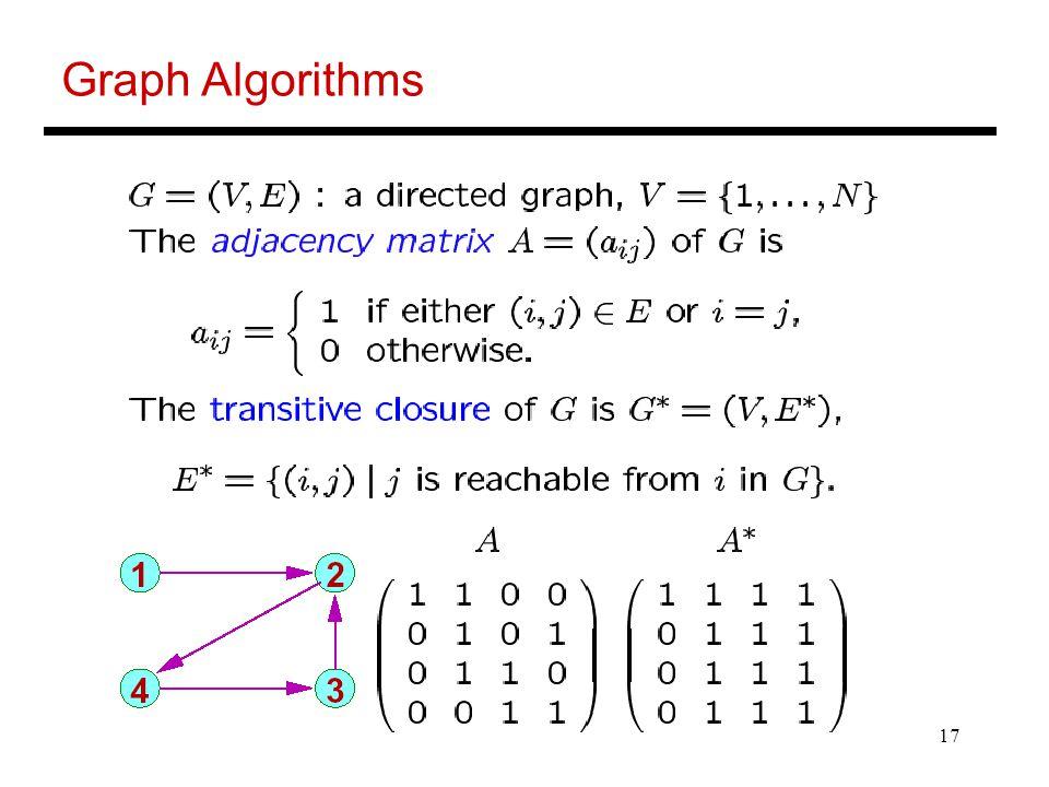 17 Graph Algorithms