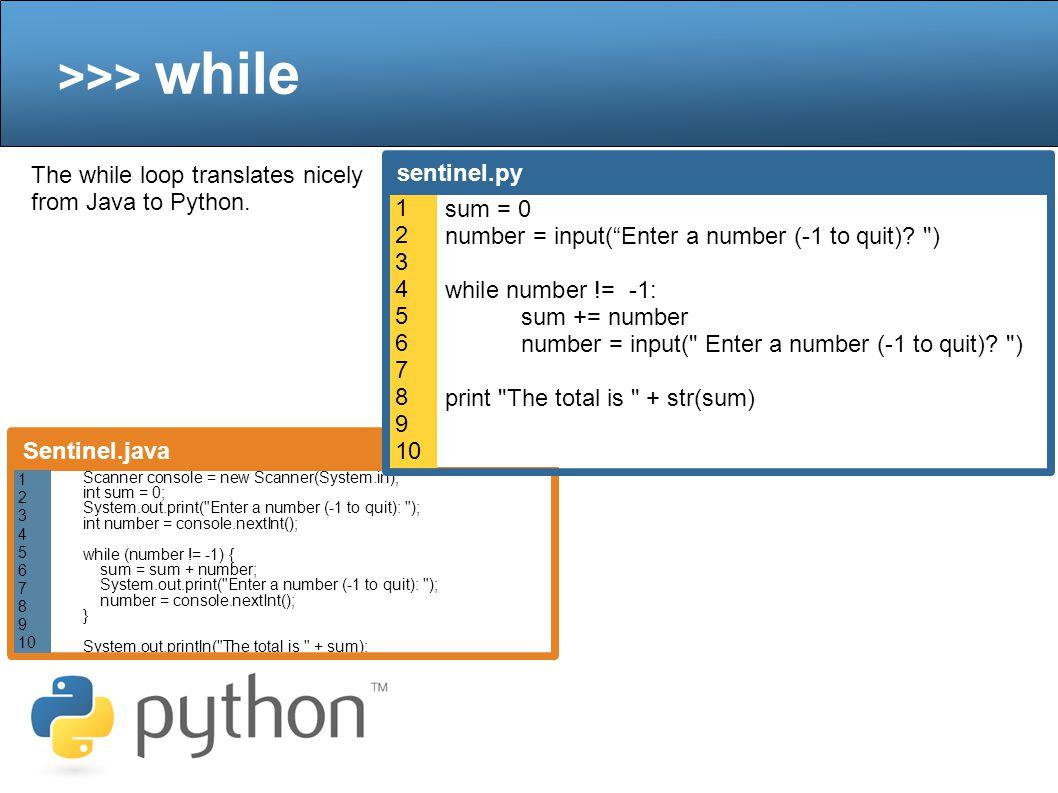 >>> random Just like in Java, python also has random object.