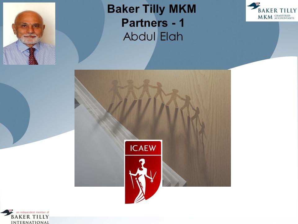 Baker Tilly MKM Partners - 1 Abdul Elah