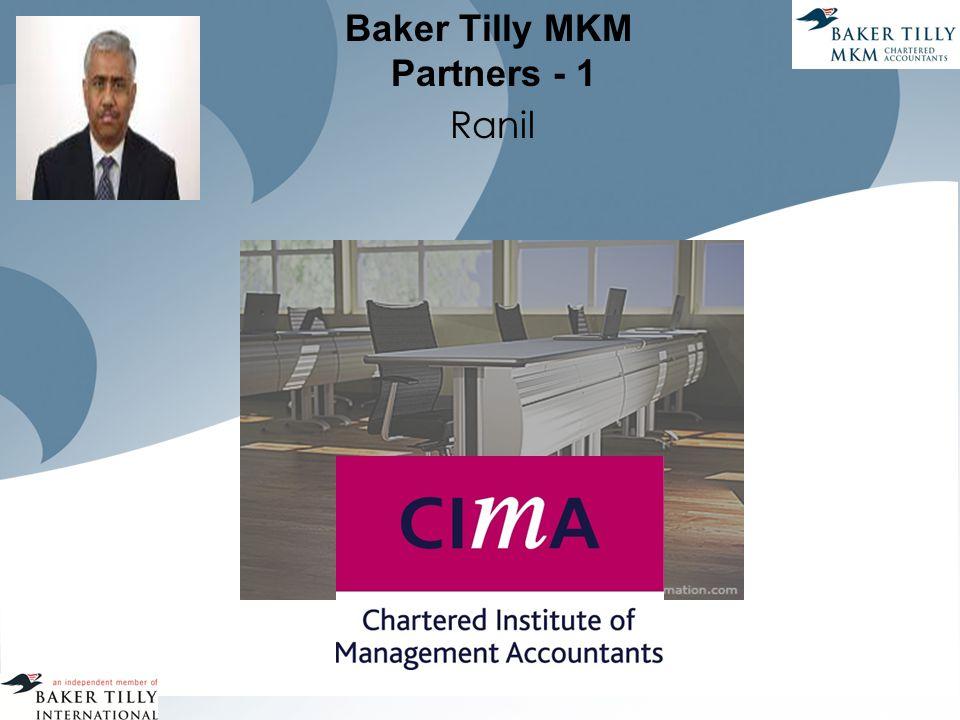 Baker Tilly MKM Partners - 1 Ranil