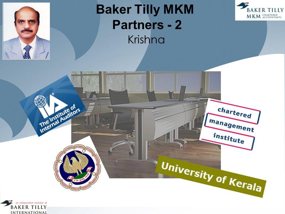 Baker Tilly MKM Partners - 2 Krishna