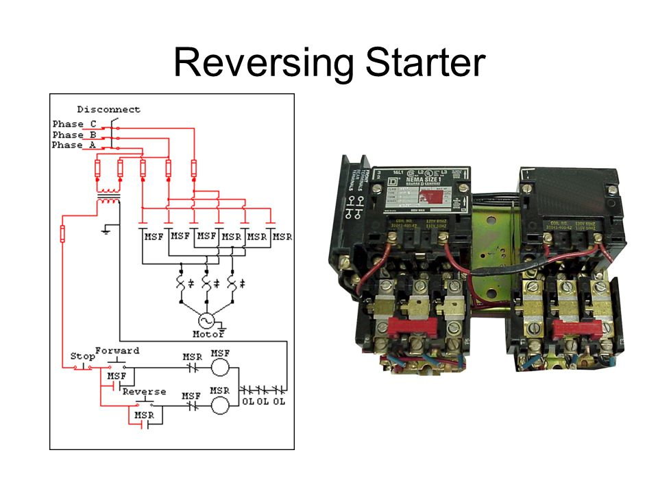 Reversing Starter
