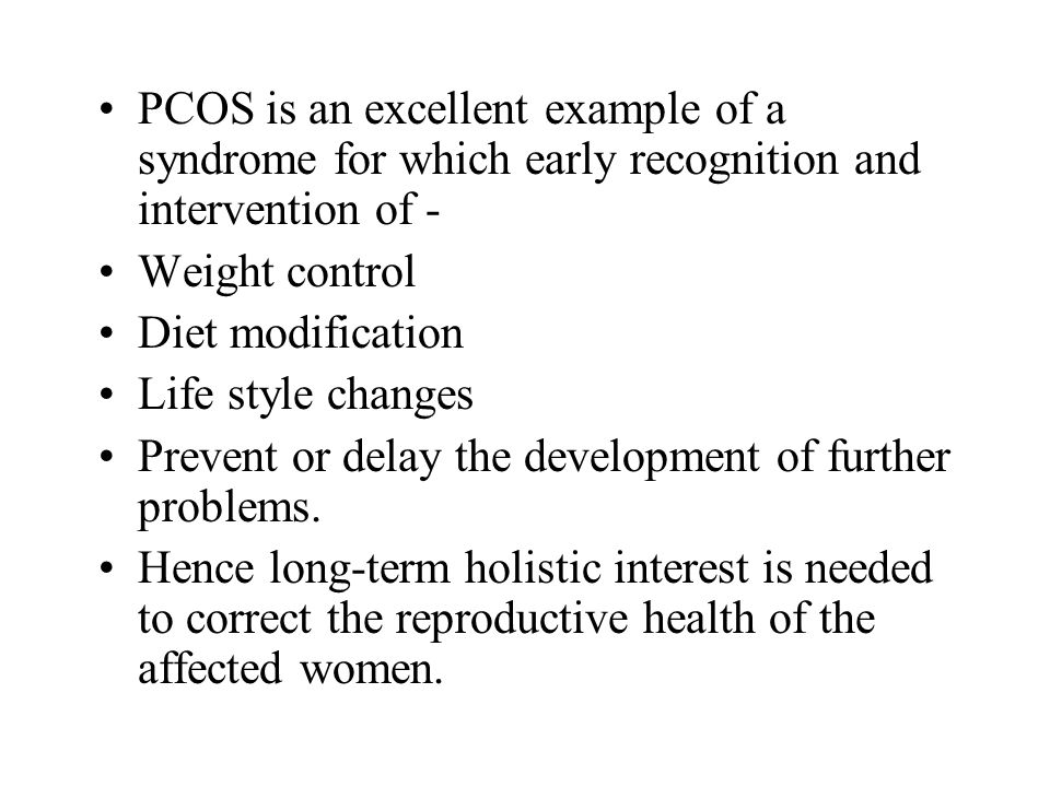 Objectives To evaluate the somatic status of the obese women with PCOS.