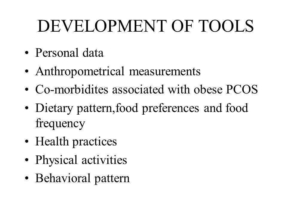 METHODOLOGY Assessment of somatic state of obesity through anthropometrics- Ht.