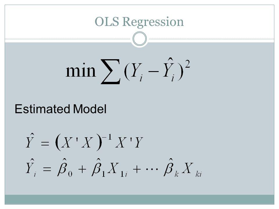 Copula Regression – Standard Errors How to compute standard errors of the estimates.