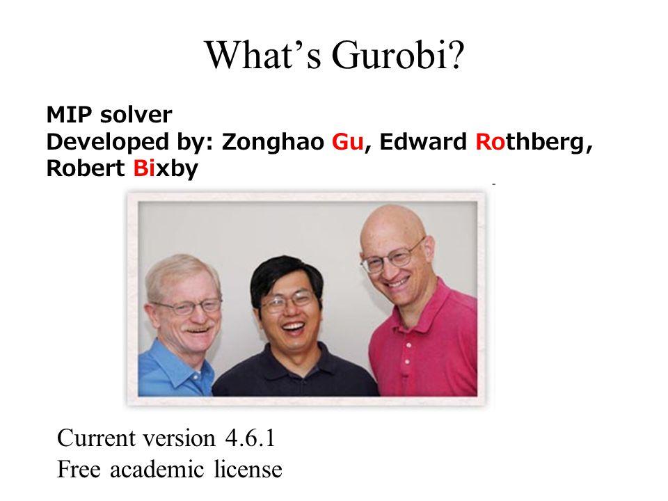 Gurobi Objects Model Variable Constraint LinExprQuadExpr Column Callbacks GRBError addVar addConstr SOS addSOS