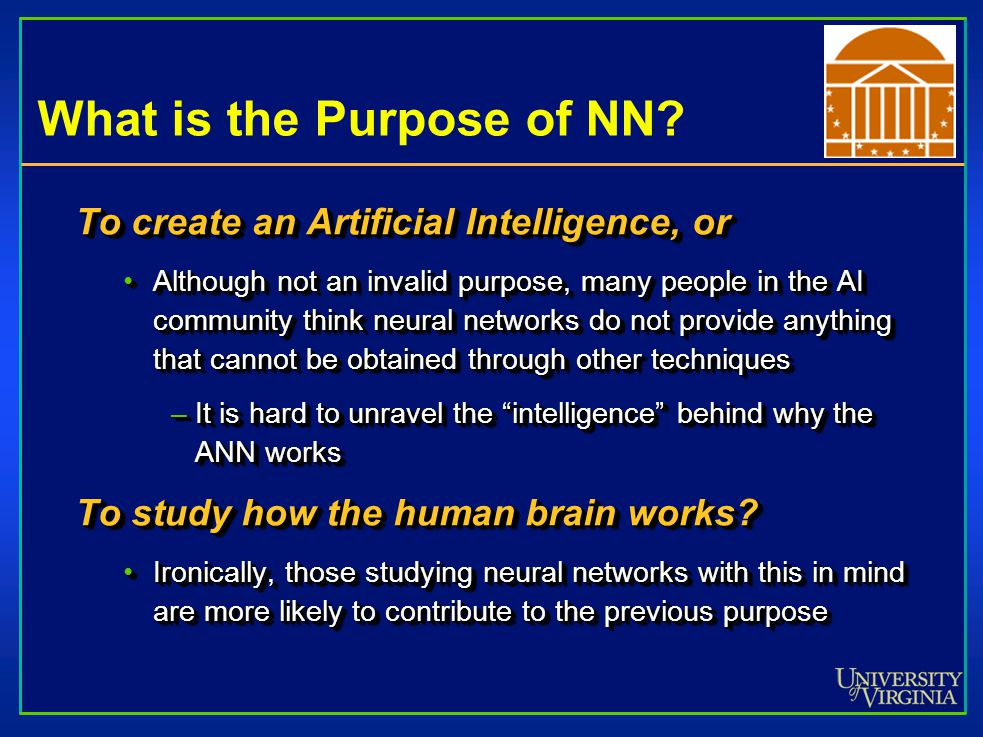 What is the Purpose of NN.