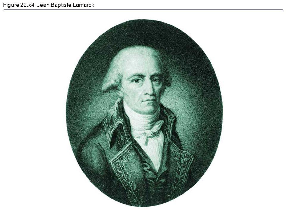 Figure 22.x4 Jean Baptiste Lamarck