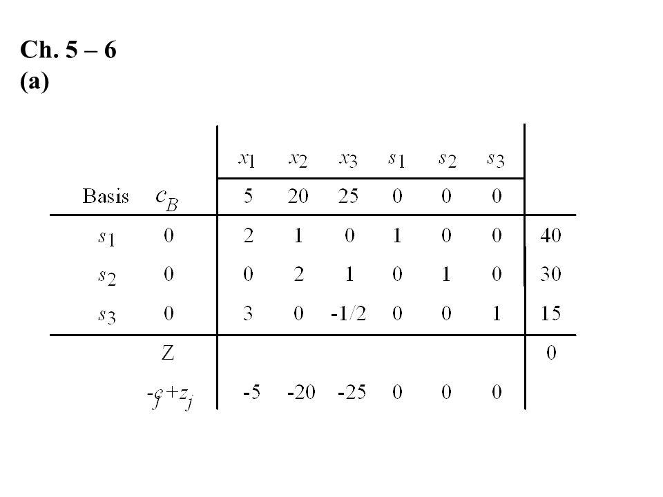 Ch. 5 – 6 (a)