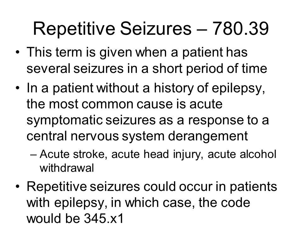 Non-Epileptic Seizures I There are many paroxysmal behavioral spells that resemble epileptic seizures.