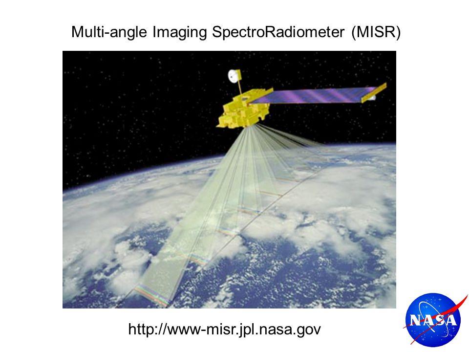 Multi-angle Imaging SpectroRadiometer (MISR) http://www-misr.jpl.nasa.gov