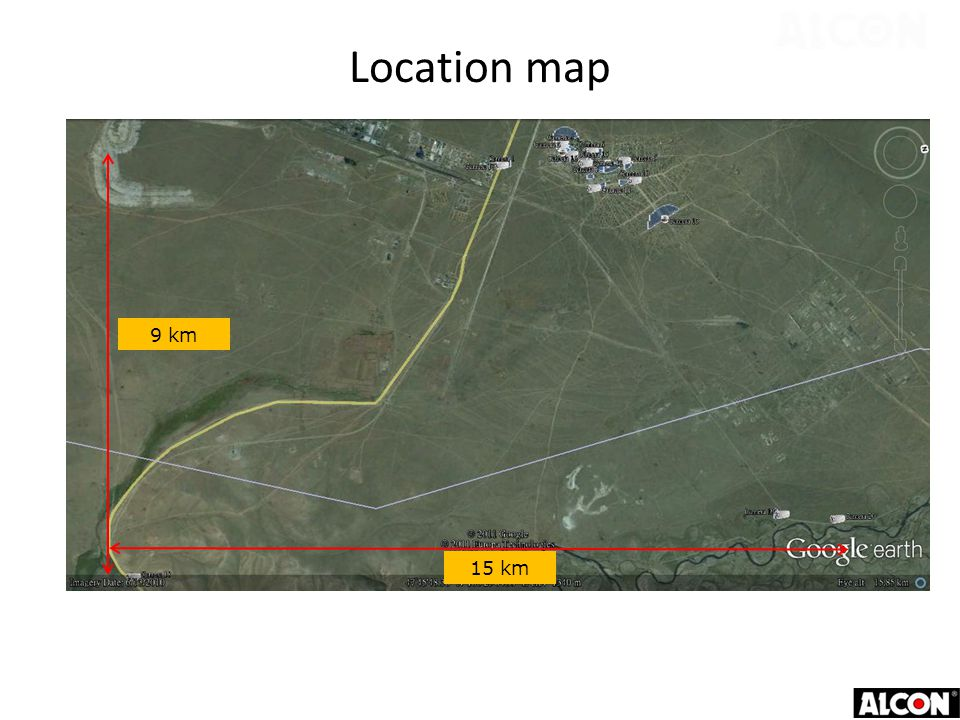 Location map Camera Site within 3km