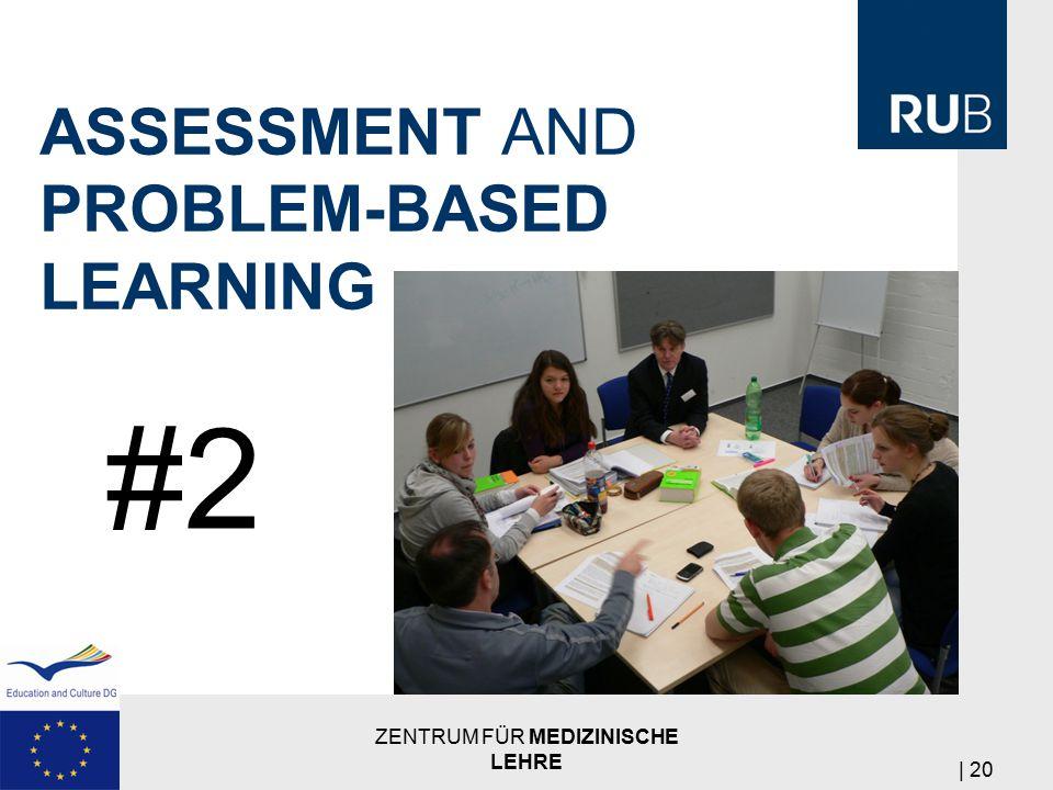 ASSESSMENT AND PROBLEM-BASED LEARNING ZENTRUM FÜR MEDIZINISCHE LEHRE | 20 #2