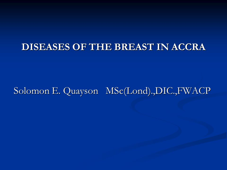 TABLE VI: SEX DISTRIBUTION OF MALIGNANT LESIONS SEX/TYPE OF MALIGNANCY FEMALEMALETOTAL LOBULAR32032 DUCTAL (NOS) 67319692 MUCINOUS21122 PAPILLARY819 MEDULARY707 COMEDO202 TUBULAR202 PAGET'S DISEASE 13013 SQ.