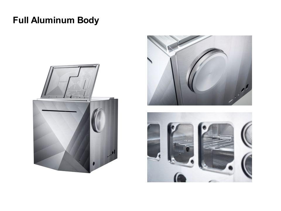 Full Aluminum Body