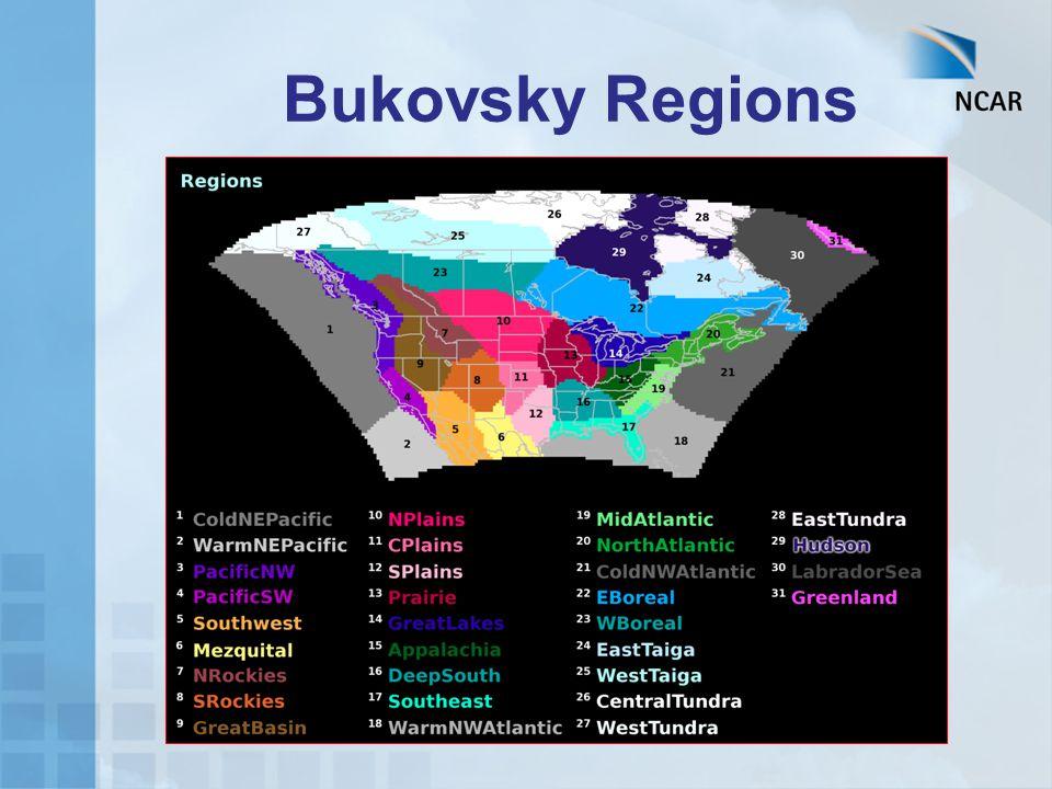 Bukovsky Regions